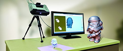 2018 Newest EinScan Pro Handheld 3D Scanner 3-Mode <0 05 mm Accuracy 2s  Scan Speed White LED Friendly UI Professional 3D Scanning for Design  Research