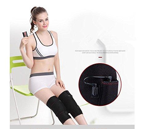 WE&ZHE Far Infrared Electric Massage Knee Pads USB Charge Heating Warm Knees / Moxibustion Physical Care Knee - To Ease The Muscle Spasm To Accelerate Blood Flow