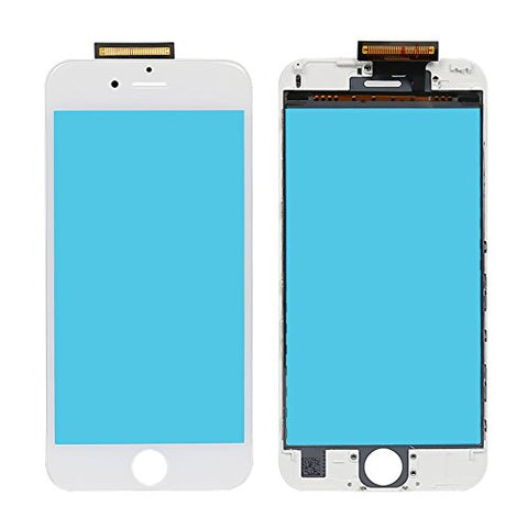 CrazyFire iPhone 7 Touch Panel Display Assembly Replacement Touch Screen Digitizer Frame Assembly for iPhone 7 with Adhesive (White)