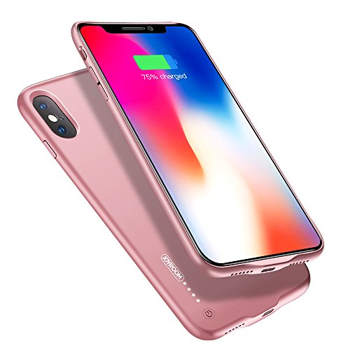 """purchase cheap 85eaf 58107 iPhone X Battery Case, JOYROOM 3500mAh Slim Portable Rechargeable Extended  Charge Case for Apple iPhone X/iPhone 10 (5.8"""") with Magnetic Function, ..."""