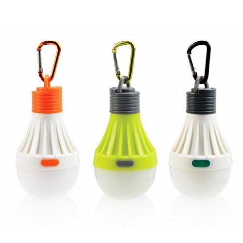 Lights & Lighting - 1w Portable Hanging Led Ball Camping Tent Light Bulb  Outdoor Fishing Hiking Lantern Night Lamp - Portable Hanging Clothes Rack