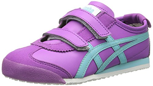 big sale 61ba7 6b182 Onitsuka Tiger Mexico 66 Baja PS Classic Running Shoe (Toddler/Little Kid),  Hyacinth Violet/Blue Radiance, 2 M US Little Kid
