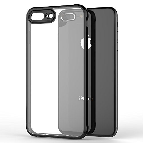 new product e517a 64f34 iPhone 8 Plus Case, iPhone 7 Plus Case, GOOWZ Hard Back - Air Cushion  Technology and Hybrid Drop Protection for Apple iPhone 7 Plus, iPhone 8  Plus - ...