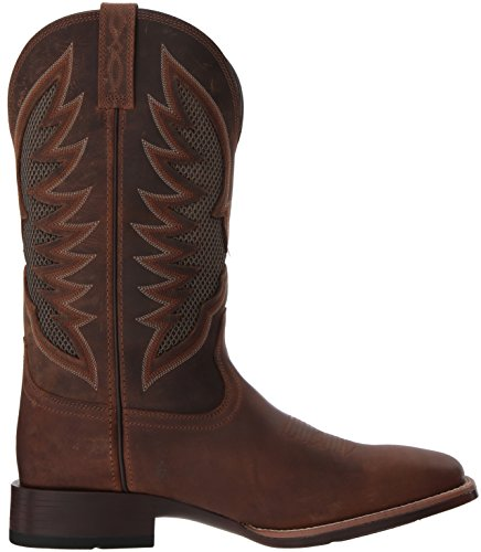 separation shoes ad24e 51198 Ariat Men's Venttek Ultra Western Boot, Distressed Brown, 13 E US