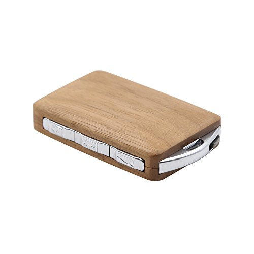 Keyless Entry Remote Control Handmade Walnut wood Vehicle key cover for  VOVOL XC90 S90 XC60 XC40 Polestar1