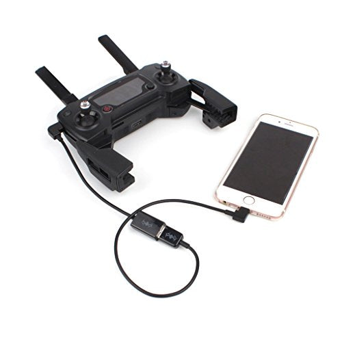 Darkhorse USB Data Converting Cable + IOS System Connected Adapter Cable  For DJI MAVIC PRO /SPARK /Mavic air Remote Controller to Mobile Device