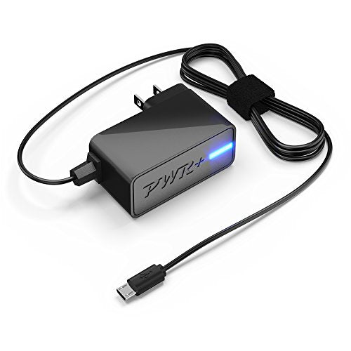 [UL Listed] Pwr+ 10W Quick Charger for Bluetooth Speakers, Wireless Headphones - Universal Compatibility: Basics Tap Micro Mini Portable Tap Alexa; BTV; TaoTronics; Jabra Move Solemate Freeway Tour Drive Cruiser; Beats Solo 3; Bose; Sony; JBL; Sennheiser;