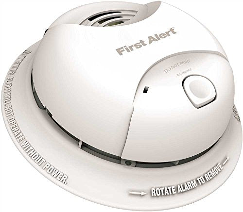 FIRST ALERT~ SA350B~ LITHIUM POWER CELL SMOKE ALARM, TAMPER PROOF, 10-YEAR SEALED BATTERY ~ 2481094 P-4005