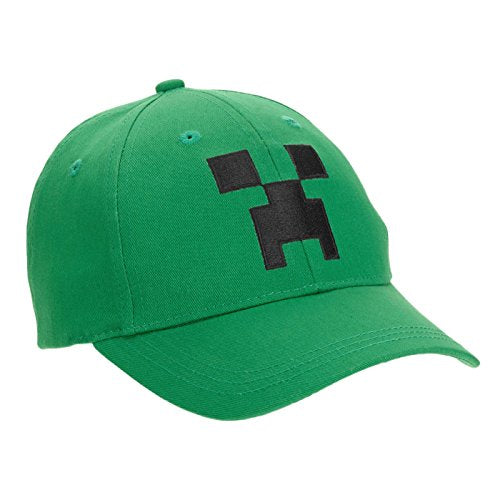 Minecraft Creeper Little Boys Snap Back Baseball Hat, Youth 4-7