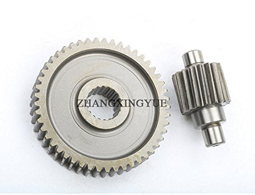 49-17t Performance Final Drive Gear GY6 50cc 139QMB Chinese Scooters Engine  Spare parts