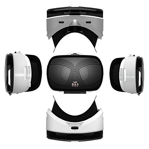 "VR Virtual Reality Headset, 3D VR Glasses for Movies Games VR Headset for Samsung Galaxy S8 S7 Edge S6 S5 Mini iPhone 8 7 6S 6 Plus & Other 4.5-6.0"" IOS Android PC Smartphones like LG Google Pixel etc"