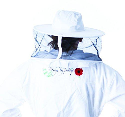 Pigeon Mountain Trading Company Women's Beekeeper Jacket with Round Hood for Beekeeping (2X)