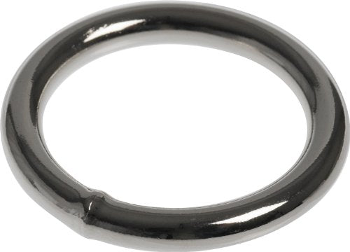 "Hillman 508 Welded Rings, 1/4 x 1-1/2"", 5-Pack"