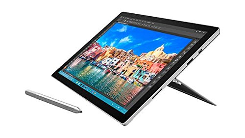 "Microsoft SV4-00001 Surface Pro 4 12.3"" Tablet, Full-HD Touchscreen, Intel Core i7-6650U 2.2GHz, 1TB Solid State Drive, 16GB Memory, 802.11ac, Bluetooth, Win10Pro"