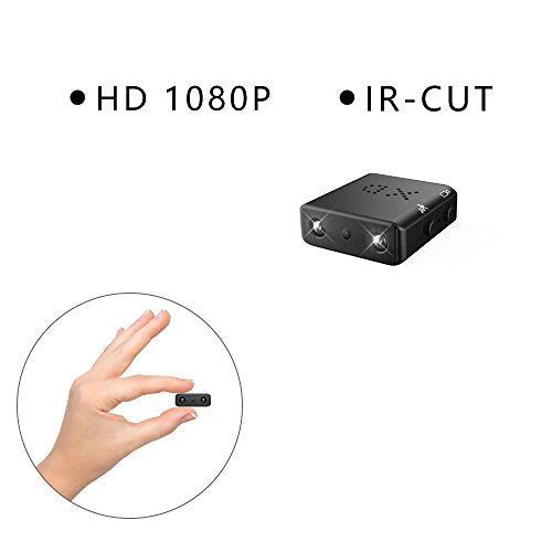 ZTour Smallest Spy Camera IR-CUT 1080P Full HD DVR Hidden Cameras Mini Camcorder Micro Infrared Night Vision Cam Motion Detection DV