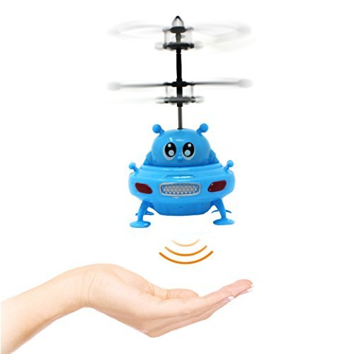 Joyin Toy RC Remote Control Helicopter Flying Toy Infrared Induction Mini Flying Ball