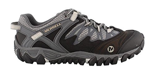 Merrell Men's All Out Blaze Hiking Shoe,Black/Silver,9.5 M US