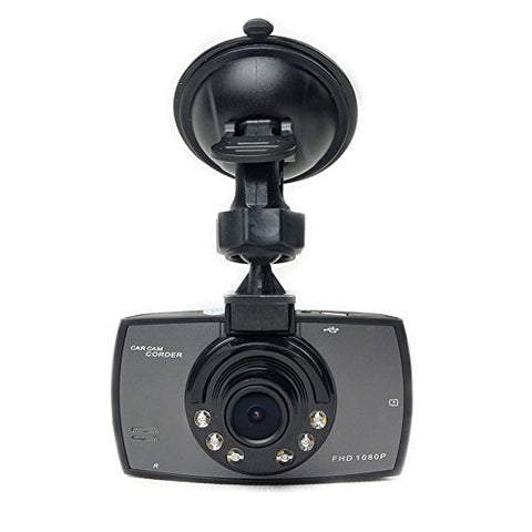 "Vehicle Video Recorder - SODIAL(R) Car Dvrs 2.4"" LCD Screen Full Hd 1080p 120 degree wide Angle Night Vision Vehicle Camera Video Recorder Dash Cam G-sensor Night Vision HDMI"