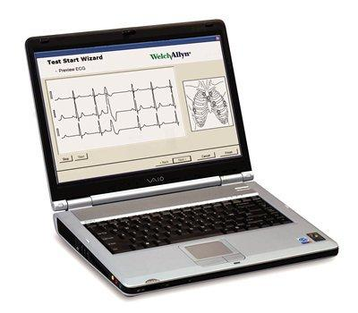 "Welch Allyn 100711 PCH-100 Office Holter Software Kit with Dell Laptop, 15"" Color Display"