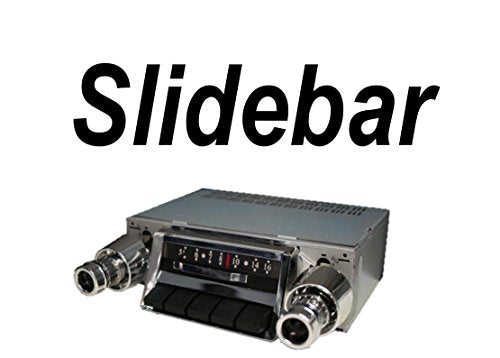 1957 Chevy Bel Air, Nomad, One Fifty, Two Ten 300 watt Slidebar AM FM Car  Stereo/Radio with iPod Docking Cable