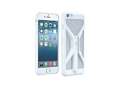 competitive price 1733d e0cec Topeak RideCase (case only) iPhone 6 Plus + Bicycle Handlebar Mount Phone  Holder, White