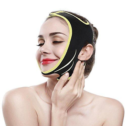 Slimming Facial Mask Face Bandages for Slimming Reducer and Anti-wrinkle Gill facial care skin compact V-line(L)