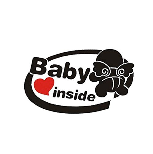 Exterior Accessories - Baby Sticker Decals Board Decal Cars Reflective Stickers - 19x11cm Baby On Board Reflective Car Stickers Auto Truck Vehicle Motorcycle Decal - - 1PCs