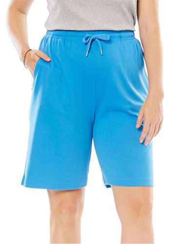 Women's Plus Size Shorts In Soft Sport Knit
