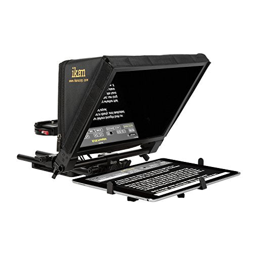 Ikan PT-ELITE-PRO Elite Universal Large Tablet for Surface Pro & iPad Pro Teleprompter (Black)