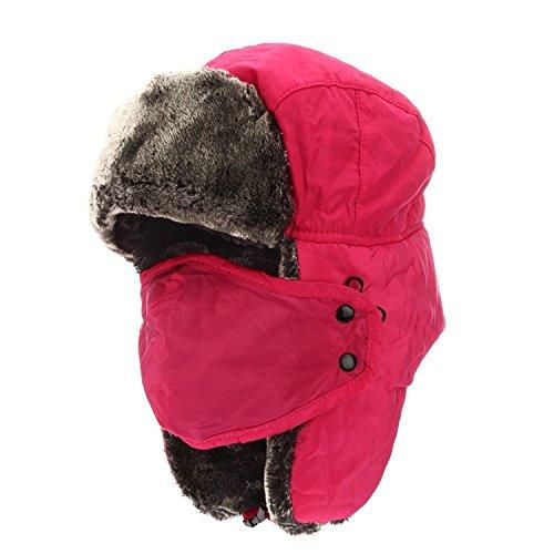 ddd841cf70ab1 ETCBUYS Winter Hat With Ear Flaps - Winter Trooper Trapper Hat ...
