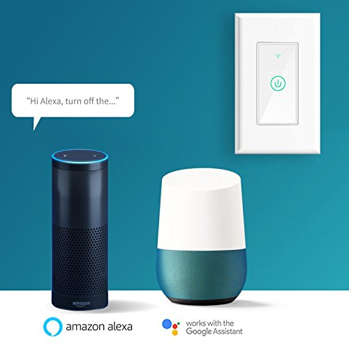 meross Smart Wi-Fi Wall Light Switch, Amazon Alexa and Google Assistant  Supported, Fit for US/CA Wall Switches, Remote Control with Timing  Function,
