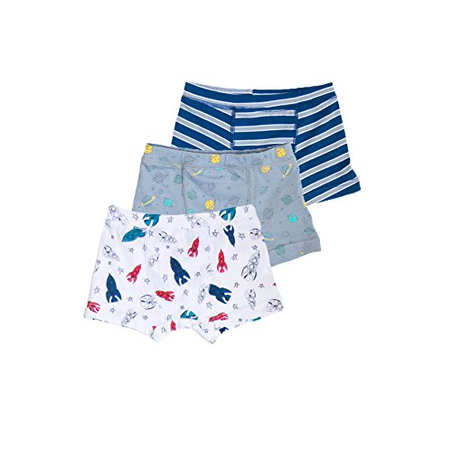 Skylar Luna 3 Pc Toddler Boxer Brief Set- Space Print Toddler Size 5/6