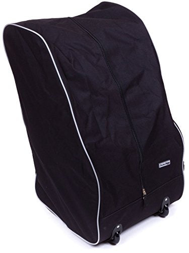 J Is For Jeep Child Car Seat Travel Bag With Wheels And Backpack Straps Convenient