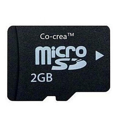 All U Want Co-crea TF High-speed Stability of Neutral Memory Cards (2GB)