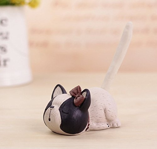 UChic 1PCS Puppy Dog Pen Holders Kids Toy Resin Crafts Pencil for Students Gift Home Decoration Accessories Supplies At Style Randomly