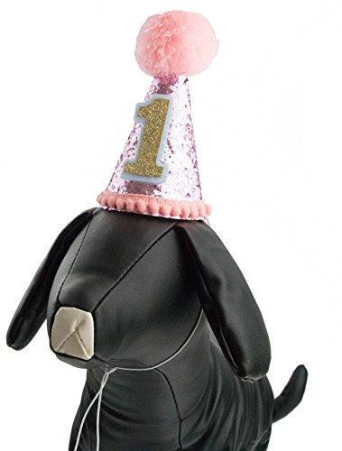 PET SHOW Small Dog Birthday Hat For Pets 1 Year Old Party Cat