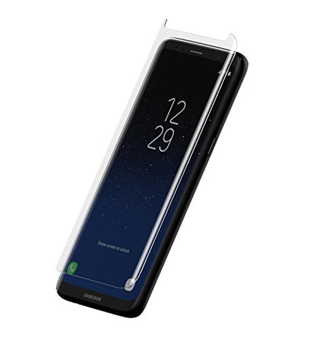 ZAGG InvisibleShield Premiere Glass Curve Screen Protector for Samsung Galaxy S8 Plus - Scratch Resistance Tempered Glass