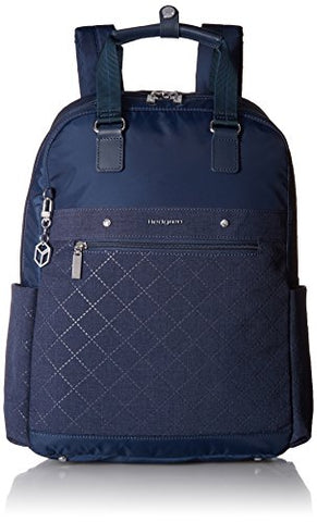 "Hedgren Diamond Star Ruby Backpack, 13"" Laptop Compartment, Luggage Handle Sleeve, 16 x 11.4 x 5 Inches, Womens, Dress Blue"