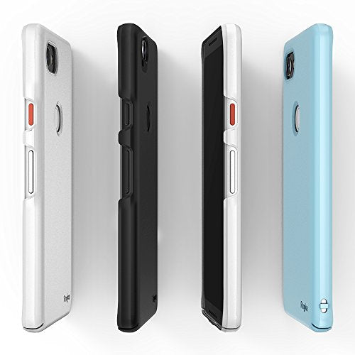 cheap for discount d2719 6d5a8 Google Pixel 2 XL Case, Ringke [SLIM] Snug-Fit Slender [Tailored Cutouts]  Lightweight, Thin Scratch Resistant Dual Coating PC Hard Skin Cover for ...