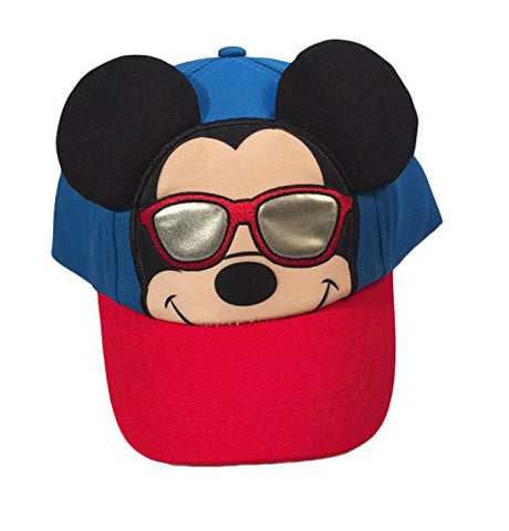 Disney Mickey Mouse Little Boys Toddler Character Baseball Hat