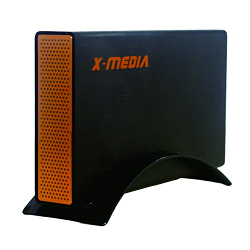 "X-MEDIA 3.5"" SuperSpeed USB3.0 SATA I/II/III Aluminum Hard Drive External Enclosure case [XM-EN3251U3-BK]"