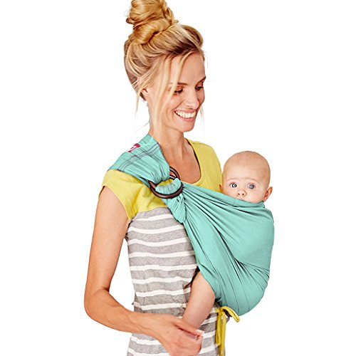 Mamaway Ring Sling Baby Wrap Carrier For Infant Newborn Toddler Nur