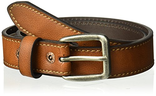 Levi's Big Boy's Jean Belt with Harness Buckle , tan/black, Small