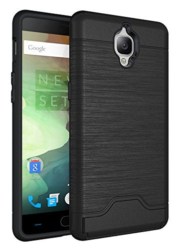 san francisco d4381 6244f OnePlus 3 Case, OnePlus 3T Case Wallet, Kick Stand Dual Layer Air Armor  Plastic TPU 2 in 1 Credit Card Slot Holder Back Protective Cover for  OnePlus3T ...