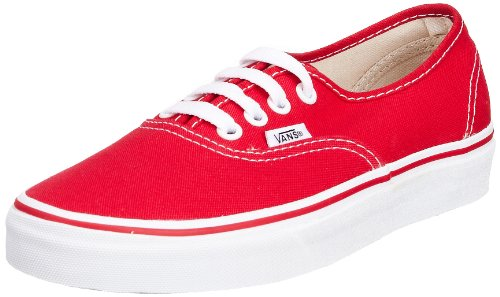Vans Authentic Original Sneakers - red b90baa546a4f
