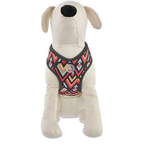Good2Go Chevron Dog Harness in Pink, Large