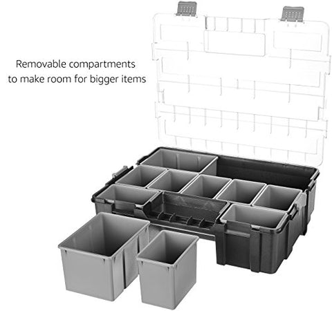 AmazonBasics Tool Organizer - 10 Compartments