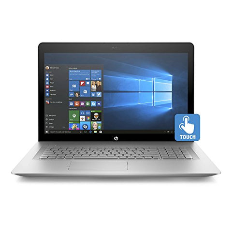 "HP ENVY 17t Touch Screen 17.3"" Full HD Laptop - 8th Gen Intel Core i7-8550U Processor up to 4.0 GHz, 16GB Memory, 4TB SSD, 4GB NVIDIA GeForce MX150 Graphics, DVD Writer, Windows 10 Pro"