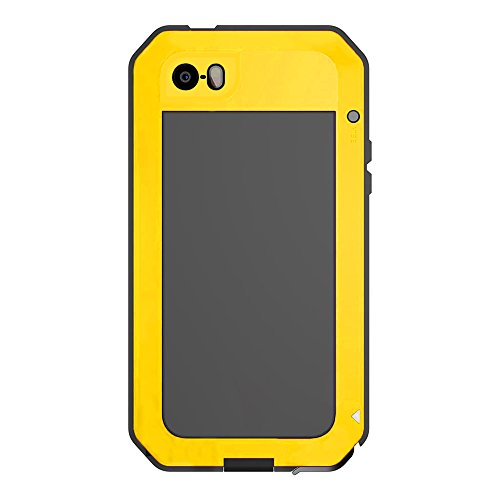 best sneakers 1fb93 6a74d iPhone 6S Plus Case,LIGHTDESIRE [Newest] Aluminum Alloy Protective Metal  Extreme Water Resistant Shockproof Military Bumper Heavy Duty Cover Shell  ...