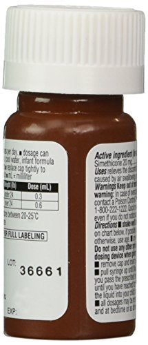 Mylicon Infant Drops Anti-Gas Relief Dye Free formula, 0 5 Fluid Ounce